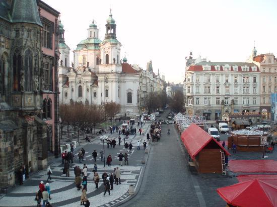 Grand Hotel Praha: Meine Aussicht
