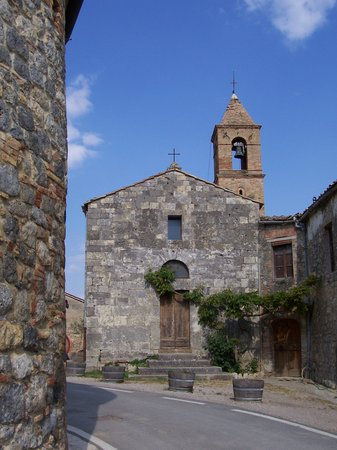 Fattoria San Donato: The church at San Donato