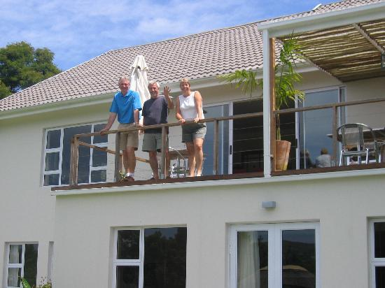 Armadillo Studios: With Marion & David on the balcony