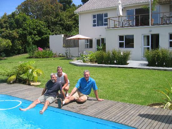 Armadillo Studios: With Marion & David by the pool