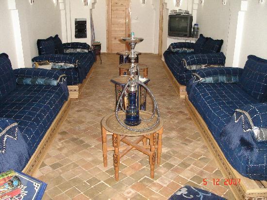 Hotel Al Alba: Un salón impresionante