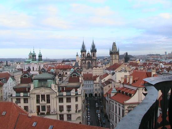 Prague Golden Age: View from Astranomical Tower