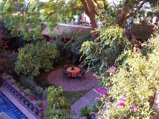 Casa Schuck Boutique Hotel: Pool view