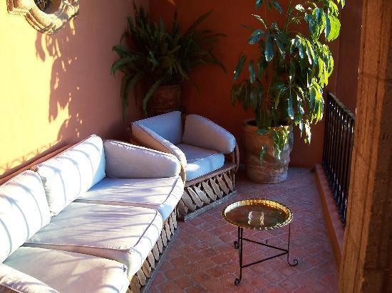 Casa Schuck Boutique Hotel: Royal Suite Balcony