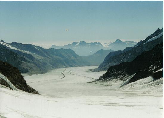 Jungfrau Region, Swiss: Glaciar de Aletchs (Suiza)