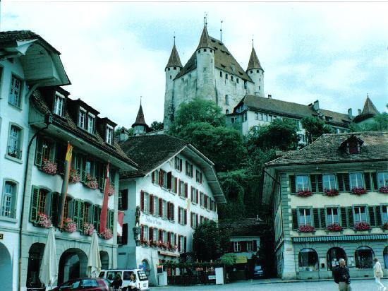Schloss THUN : Castillo de Thun (Suiza)