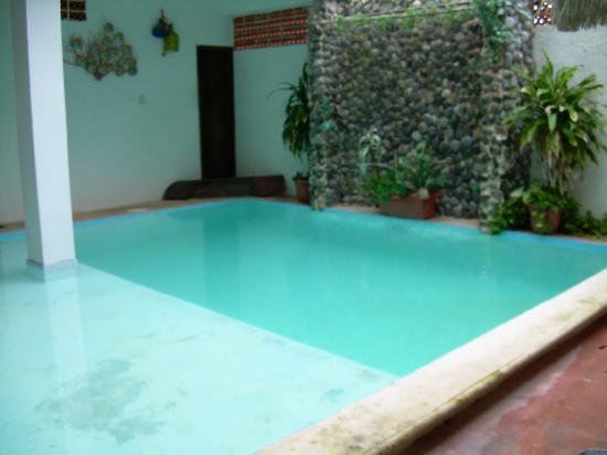Hotel Casa Espana: the pool!