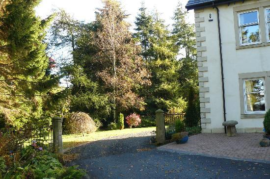 Arden Country House: The gardens around the house