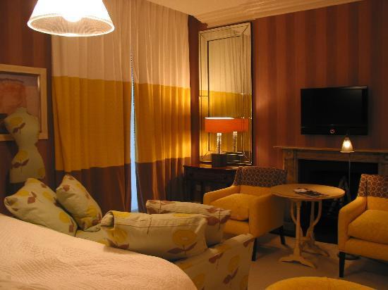 Haymarket Hotel: Deluxe room