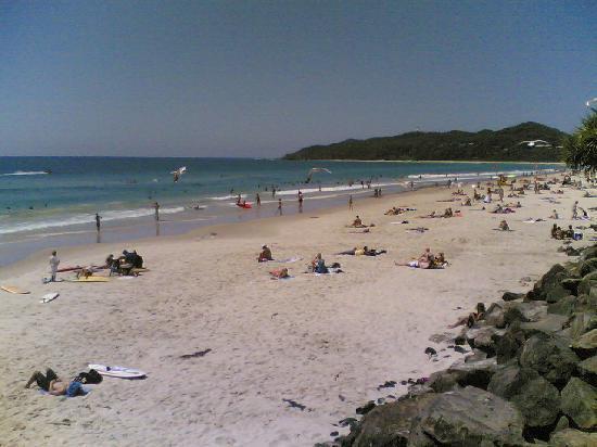 Byron Bay, Australia: The beach