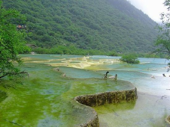 Sichuan, Kina: lake