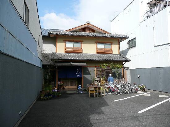 Front of Ryokan Shimizu Inn