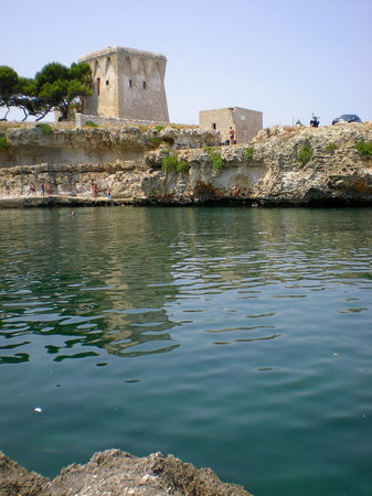 Apulia, Italia: On the coast, just north of Monopoli
