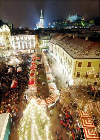 APLEND CITY Hotel Michalska: Christmas Market 2007