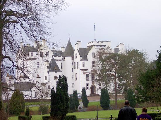 Blair Castle and Hercules Gardens: the castle