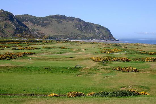Conwy Golf Club: Aerial shot