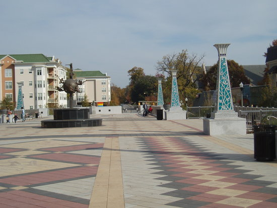 Decatur, Джорджия: Artwork in Square