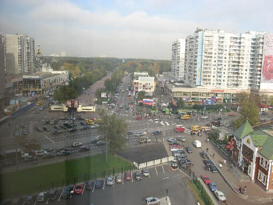 Holiday Inn Moscow Sokolniki : Window view at Sokolniki park