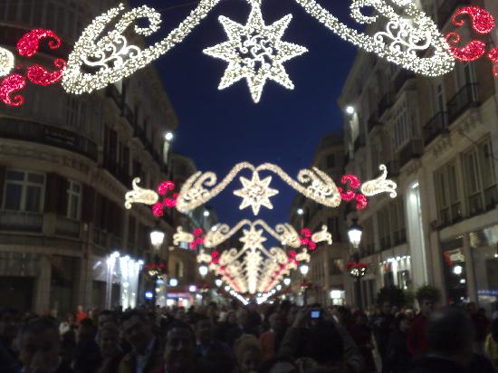 medplaya hotel bali christmas lights in malaga 08 12 07 - Best Place To Buy Christmas Lights