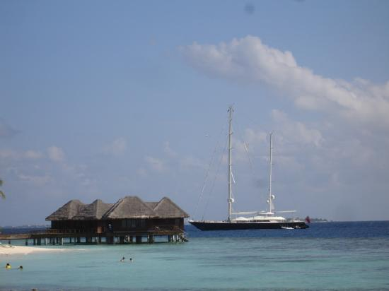 Bandos Maldives: Villas pilotis