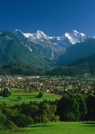 Interlaken, Schweiz: Jungfrau