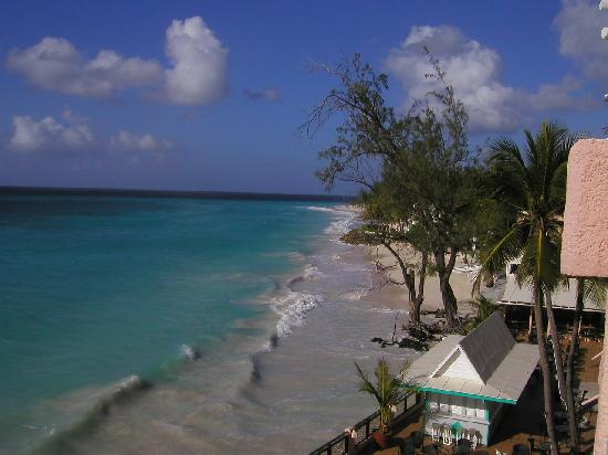 Barbados Beach Club: View from Hotel room