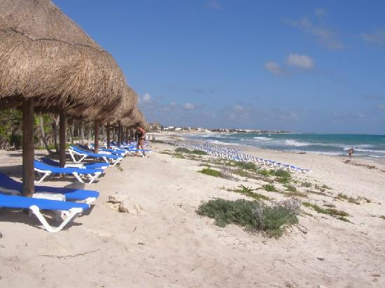 Valentin Imperial Riviera Maya: Beach