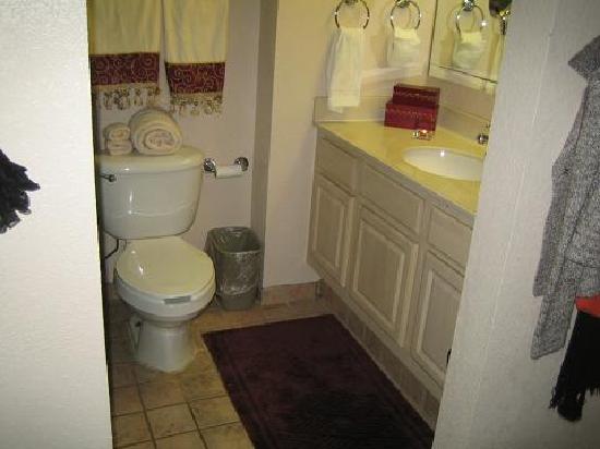 MainStay Suites : bathroom