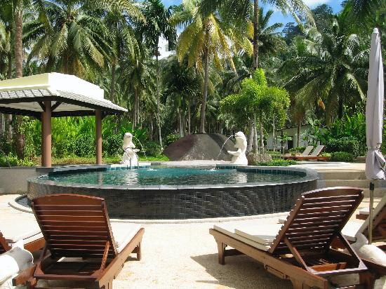 Chongfah Beach Resort: The pool