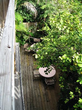 garden from above picture of key west bed and breakfast key west rh tripadvisor com