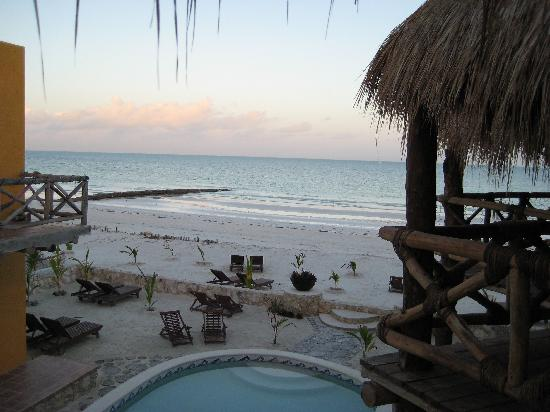 Holbox Dream Beach Front Hotel by Xperience Hotels: view from the room ( 2rd floor)