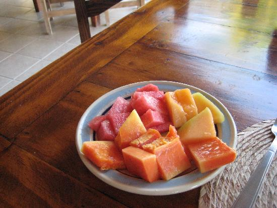 Holbox Dream Beach Front Hotel by Xperience Hotels: fruit in the breakfast