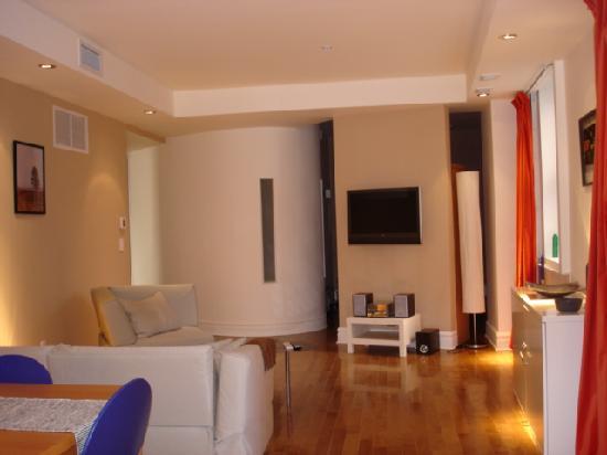 All Suite VIP Saint-Jacques : 207 salon