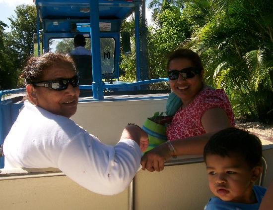 Memories Splash Punta Cana: trolley ride