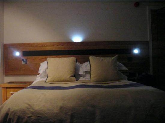 Led Lights In The Bedhead Picture Of Gwesty Cymru