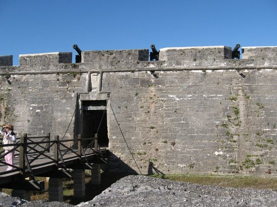Saint Augustine, Φλόριντα: Drawbridge-Ft Castillo de San Marcos