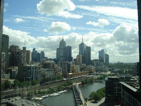 Crown Towers Melbourne: crown towers-view from room