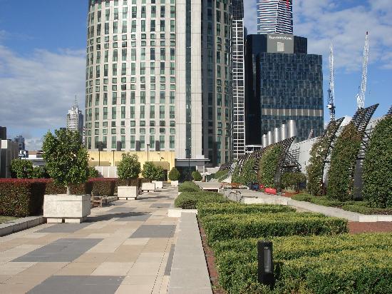 Crown Towers Melbourne: crown towers-rooftop 2nd floor