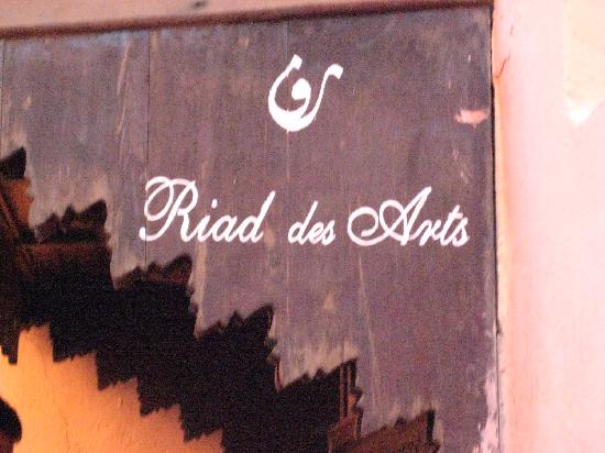 Riad des Arts: entrance
