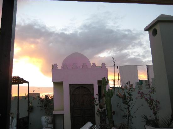 Riad des Arts: rooftop terrace