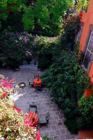 Casa Schuck Boutique Hotel: Courtyard