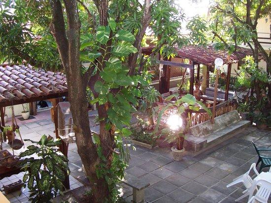 Pousada Casuarinas: le patio