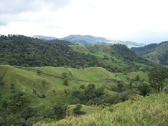 La Mansion Inn Arenal Hotel: one view from our horseback ride