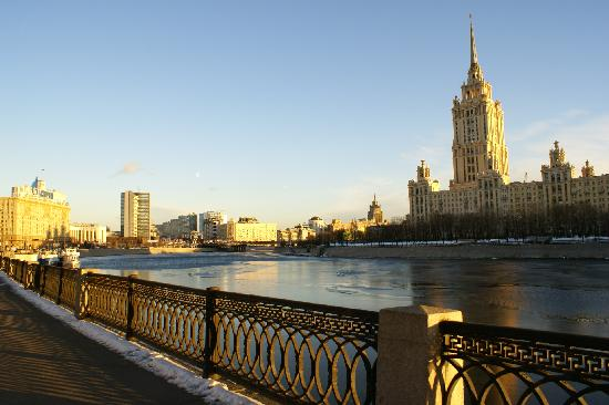 Crowne Plaza Moscow World Trade Centre: Hotel Street View