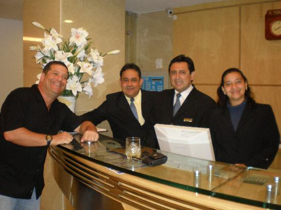 Hotel Astoria Palace: My Friends