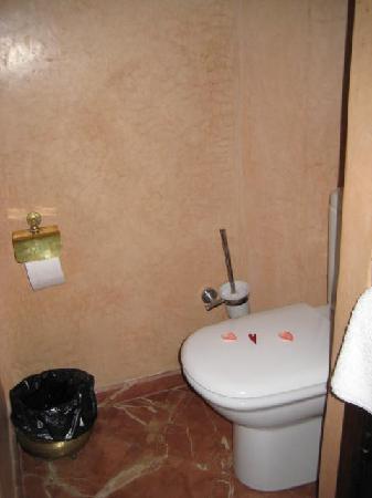 Riad des Arts: toilet