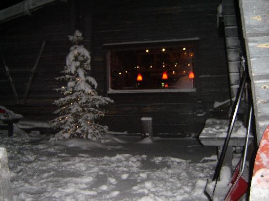 Lapland Hotel Pallas: side window of hotel