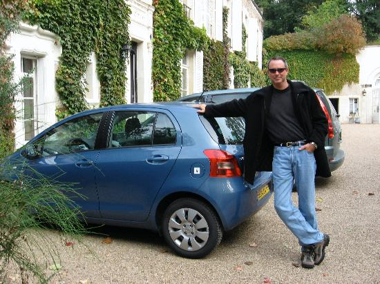 Chateau de Pray : Me, w/ rental car in front of Chateau