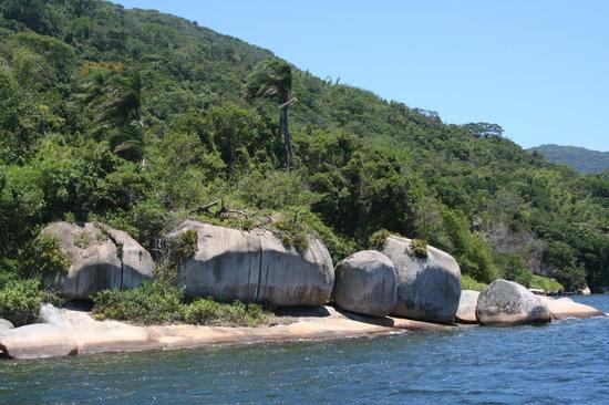 Florianopolis, SC: lagoa dalla barca