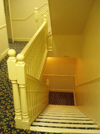 Throstles Nest Hotel : Escaleras de acceso